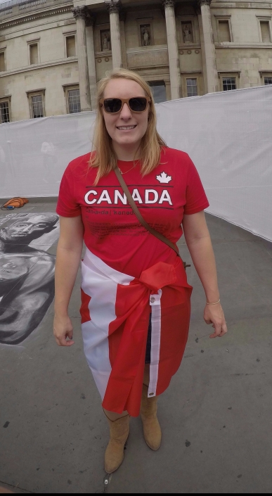 In our Canada shirts