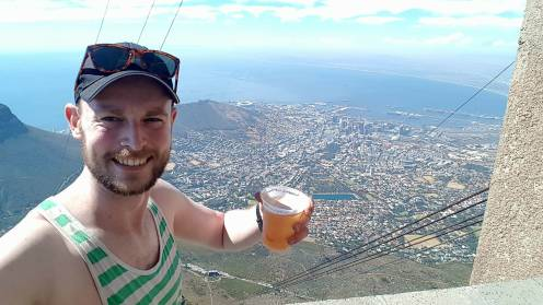 Beer at the top