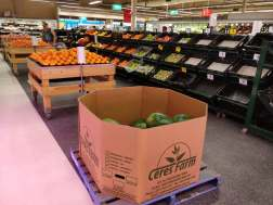Our watermelons in the supermarket!
