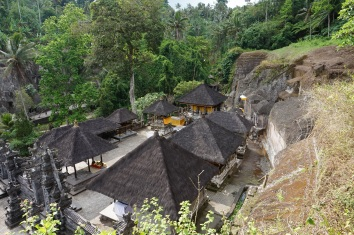 View from above the temple
