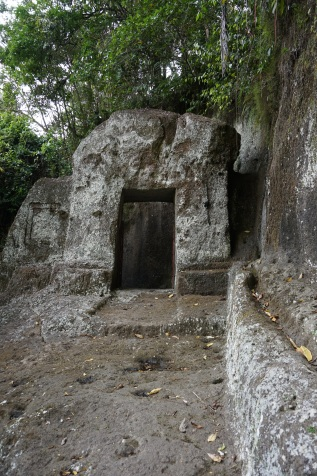 Entrance to the oldest part of the temple