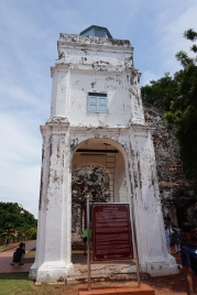 Ruins of the old church
