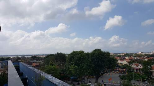 The view from the museum roof